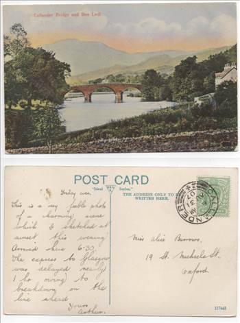 Callander Bridge and Ben Ledl PW005.jpg by whitetaylor