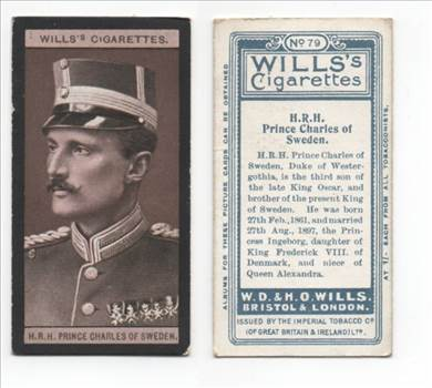 Wills European Royalty #79 Prince Of Sweden CC0109.jpg by whitetaylor