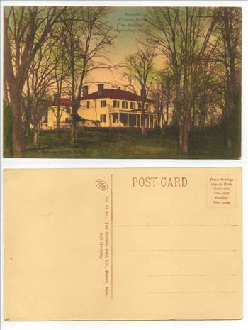 Boydville The Faulkners Colonial Home Martinsburg PW146.jpg by whitetaylor