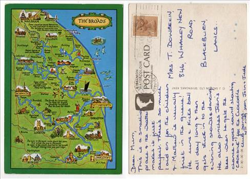 Map Postcard Of The Broads PW321.jpg by whitetaylor