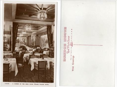 A Corner Of The Grill Room Strand Palace Hotel PW106.jpg by whitetaylor