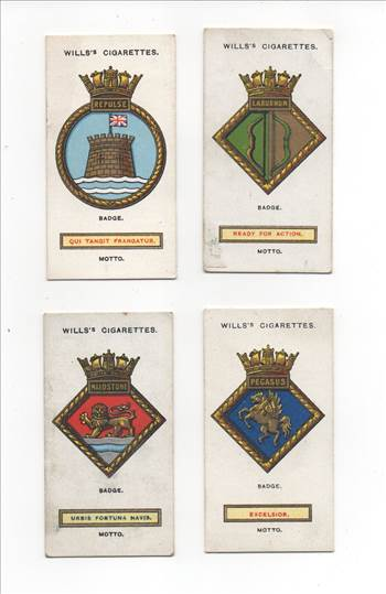 Wills Ships Badges Front CC0127.jpg by whitetaylor