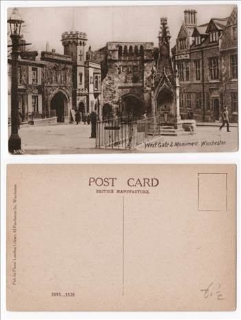 Winchester West Gate And Monument PW0935.jpg by whitetaylor