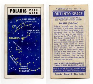 Brooke Bond Out Into Space #36 Polaris Pole Star CC0255.jpg by whitetaylor