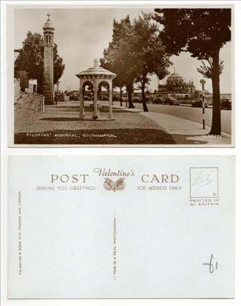 Southampton,  Pilgrims Memorial PW0742.jpg by whitetaylor