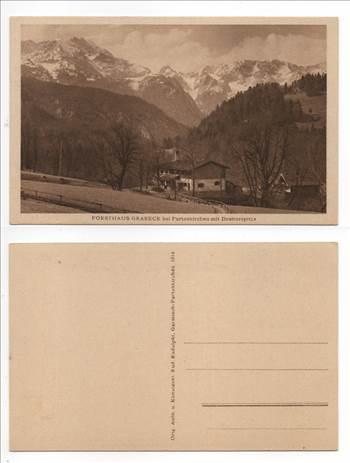 Forsthaus Graseck bei Partenkirchen mit Dreitorspitze PW276.jpg by whitetaylor