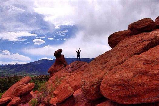 """""""Serenity"""" Taken at the Garden of the Gods in Colorado by Tumbleweed Express"""