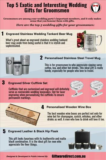 Top 5 Exotic and Interesting Wedding Gifts for Groomsmen.png by Giftwaredirect