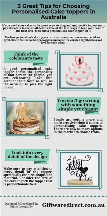 3 Great Tips for Choosing Personalised Cake toppers in Australia.jpg by Giftwaredirect