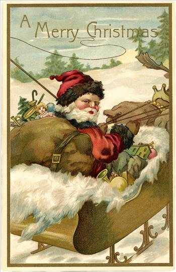 Vintage-Santa-with-Sleigh-Image-GraphicsFairy.jpg by frankbunce