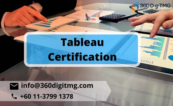 Best Tableau Certification Course Training Institute in Malaysia. 360DigiTMG is the Best Tableau Training Institute In Malaysia providing Tableau Training Classes by real-time faculty with course material.