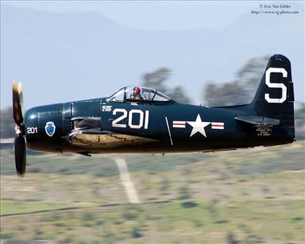 F8F Profile in Flight.jpeg by yankeetrader