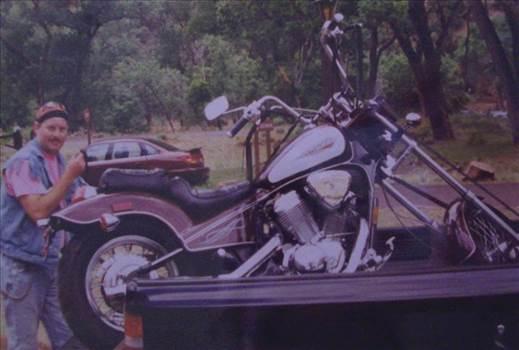 Chopper in my mini-truck by ShadowShack
