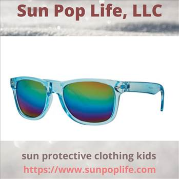 sun protective clothing kids.gif by SunPopLife