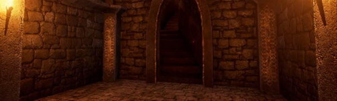 bottom of dungeon stairs.jpg by CraftyQueen
