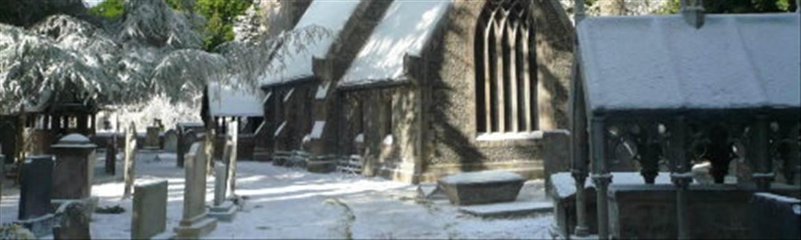 godrics hollow graveyard.jpg by CraftyQueen
