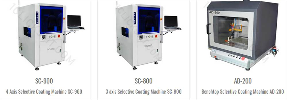 Conformal coating machine by 1clicksmtconformal