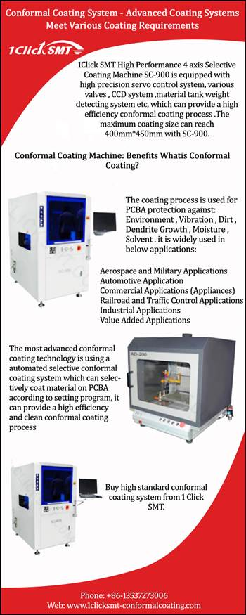 Conformal Coating System - Advanced Coating Systems Meet Various Coating Requirements.jpg by 1clicksmtconformal