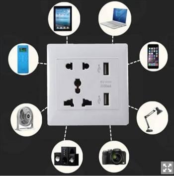 Dual USB Ports Universal Wall Socket.JPG by saysal