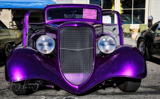 1933 Purple Ford 3 Window Coupe.jpg by APhotographersLoveAffair