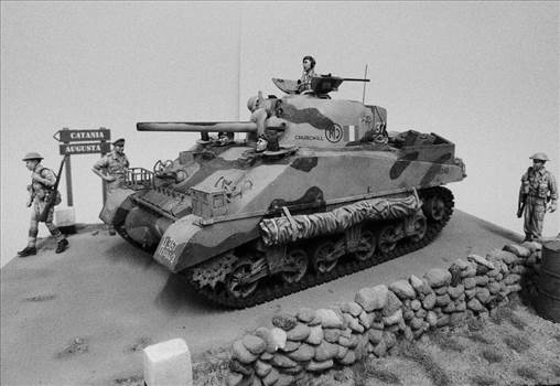 Sherman Vignette BW 4.JPG by GordonJ