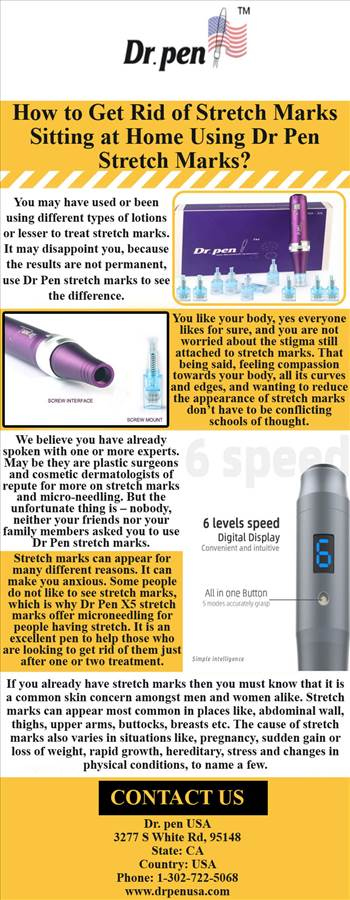 How to Get Rid of Stretch Marks Sitting at Home Using Dr Pen Stretch Marks.jpg by Drpenusa