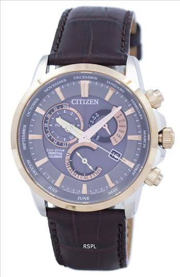 Citizen Eco-Drive Chronograph Perpetual Calendar Alarm BL8148-11H Men's Watch.jpg by citywatchesnz