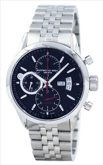 Raymond Weil Geneve Freelancer Chronograph Automatic 7730-ST-20041 Men's Watch.jpg by citywatchesnz