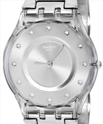Swatch Skin Classic Silver Drawer Quartz SFK393G Women's Watch.jpg by citywatchesnz