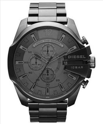 Diesel Mega Chief Quartz Chronograph Grey Dial Black IP DZ4282 Mens Watch.jpg by citywatchesnz