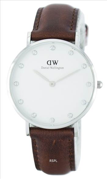 Daniel Wellington Classy St Mawes Quartz Crystal Accent DW00100079 (0960DW) Womens Watch.jpg by citywatchesnz