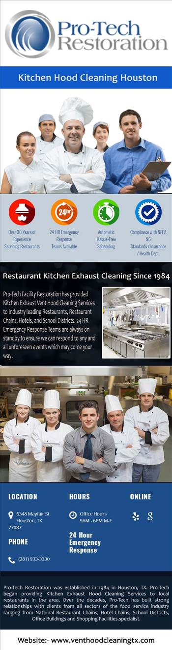 Kitchen Hood Cleaning Houston.jpg by protechrestoration