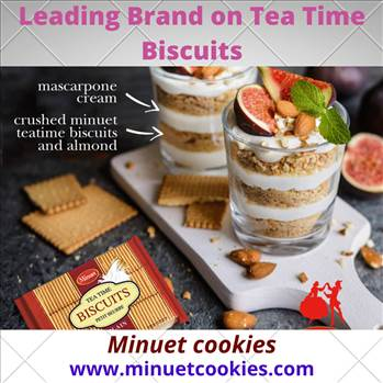 Happiness is a nice hot mug of tea and a packet of tea time biscuits. We Imisk Group is a leading brand on tea time biscuits, cream biscuits, wafers, crackers, cream cookies and a variety of cakes.  See more: https://www.minuetcookies.com/product/tea-time
