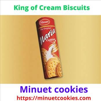 King of Cream Biscuits.gif by Minuetcookies