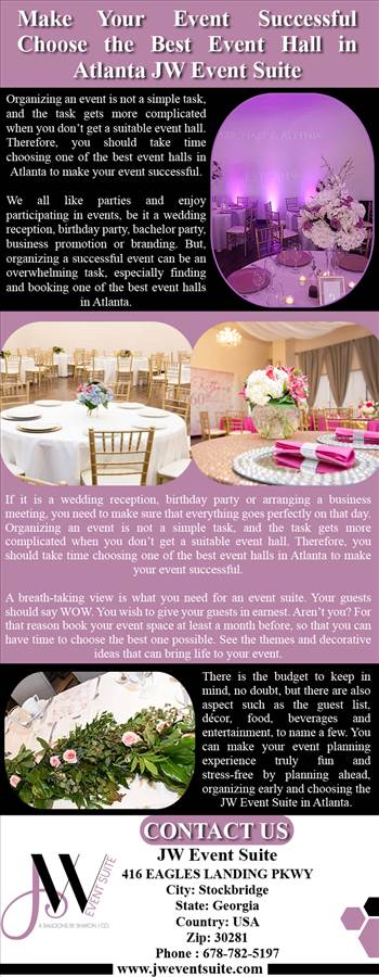 Make Your Event Successful Choose the Best Event Hall in Atlanta JW Event Suite.png by Jweventsuite