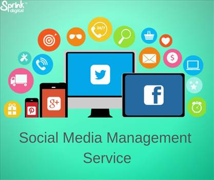 Social Media Management Service by sprinkdigital