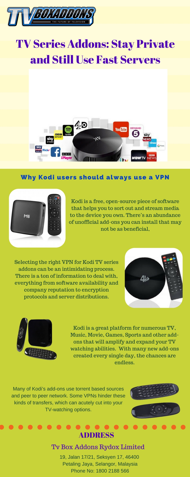 "TV Series Addons Stay Private and Still Use Fast Servers.jpg Kodi TV addons has unveiled their intentions to ""change how people access streaming media forever"". For more details, visit this link: http://tvboxaddons.blogspot.in/2018/04/tv-series-addons-stay-private-and-still.html by tvboxaddons"