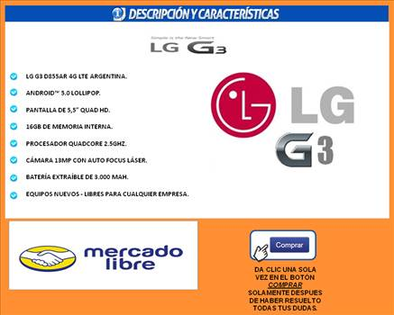 Lg g3 gratis by arielrc