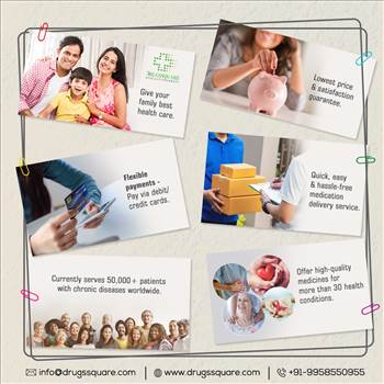 International Online Pharmacy - Generic and Branded Medicines at Lowest Price by Drugssquare