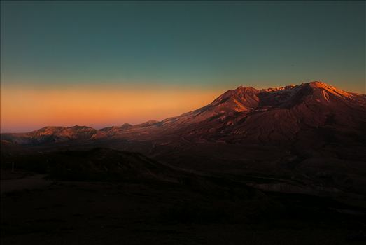 Mt. St. Helens at Sunset by Bear Conceptions Photography