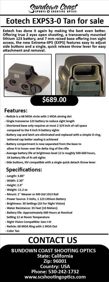 Eotech EXPS3-0 Tan for sale.jpg by SUNDOWN COAST SHOOTING OPTICS
