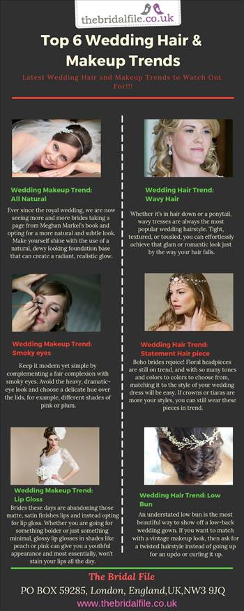 Top 6 Wedding Hair & Makeup Trends.jpg by thebridalfile