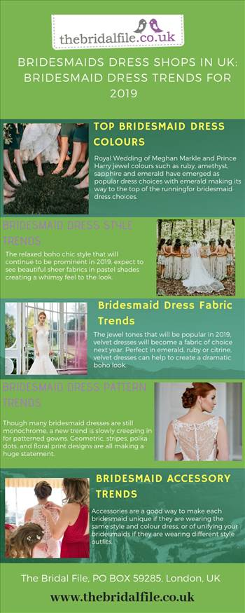 There are five style trends which are the next big thing in the world of bridesmaid fashion. Have a look and get some inspiration for dresses that your bridesmaids will love.  Visit our link: https://bit.ly/2UethaD