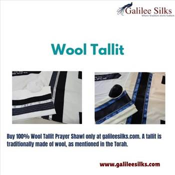 Wool Tallit by amramrafi