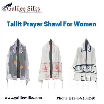 Tallit prayer shawl for women.gif by amramrafi