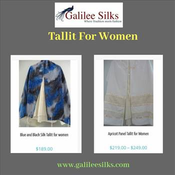 Tallit for women.gif - Tallit for women was definitely a matter of controversy in the days gone by. But in the current time, they have become a part of the trending fashion and Jewish women around the world love wearing them.  For more details, visit: https://bit.ly/2Pl4eRf