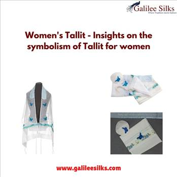 Women's Tallit - Insights on the symbolism of Tallit for women by amramrafi