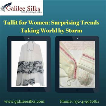 Tallit for Women_ Surprising Trends Taking World by Storm.jpg - Jewish prayer shawl is getting its moment of glam. With fashion trends changing rapidly, embrace yourself with contemporary designed modern Jewish tallit today. For more details, visit this link: https://silktallit.wordpress.com/2018/04/10/tallit-for-wome