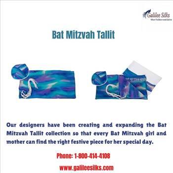 Bat mitzvah Tallit by amramrafi