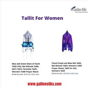 Tallit for women by amramrafi